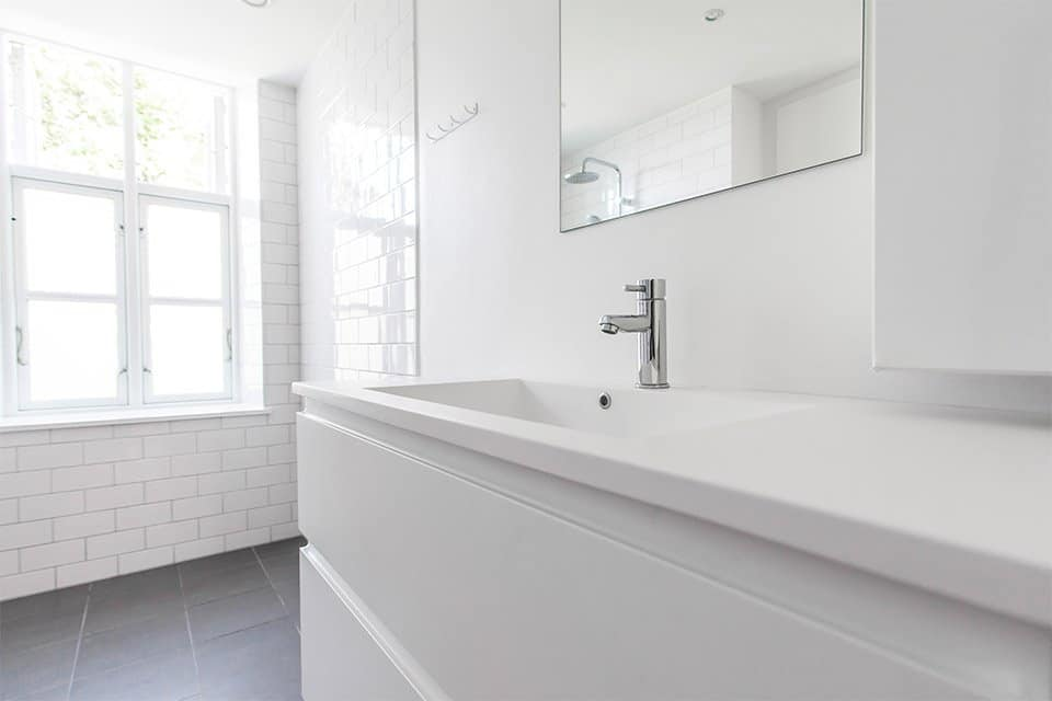 moderne håndvask